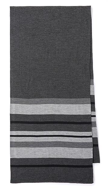 Vince Striped Blanket Scarf