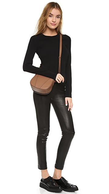 Vince Cross Body Saddle Bag