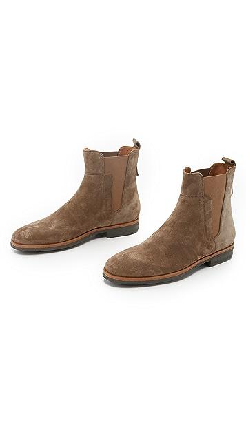 Vince Harvey Suede Chelsea Boots