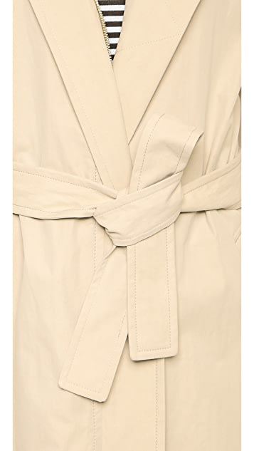 Vince Belted Trench Coat