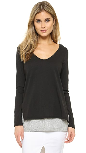 Vince Double Layer Top