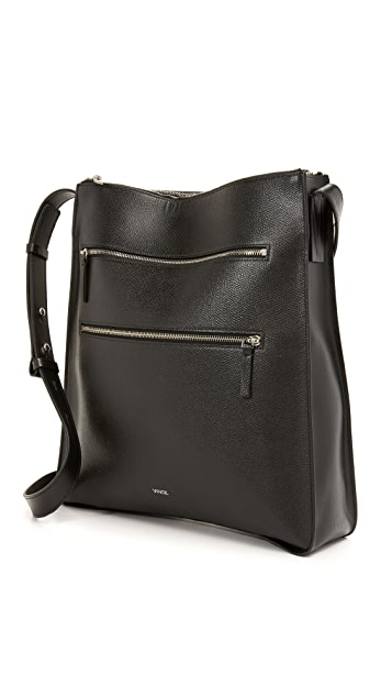 Vince Medium Zip Cross Body Bag
