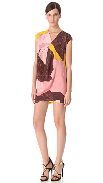Vionnet Pink Orchid Tunic Dress