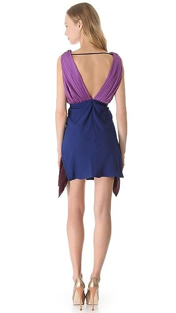 Vionnet Sleeveless V-Neck Dress
