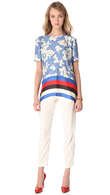 Vionnet Short Sleeve Top