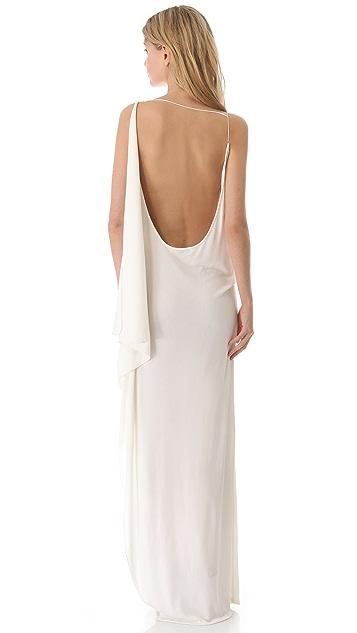 Vionnet Sleeveless Jersey Dress