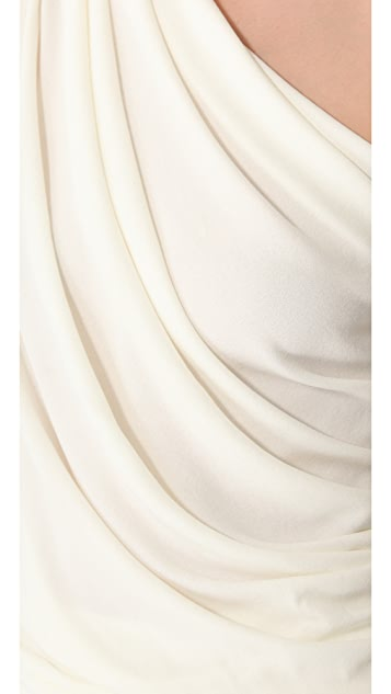 Vionnet One Shoulder Top