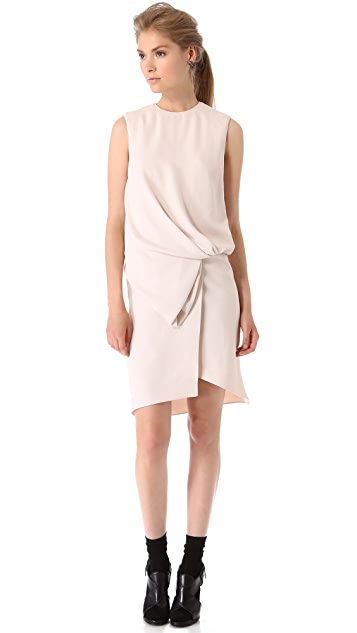 Vionnet Sleeveless Blouson Dress