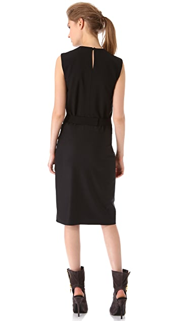 Vionnet Draped Sleeveless Dress