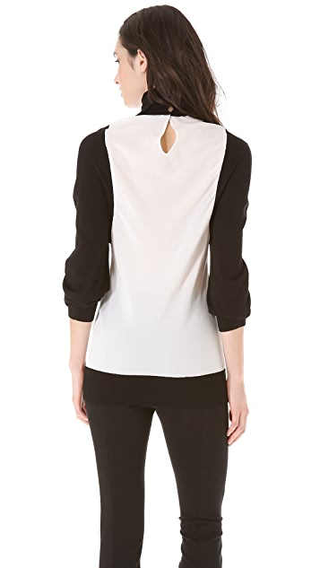 Vionnet Long Sleeve Top