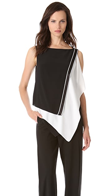 Vionnet Asymmetrical Panel Tank