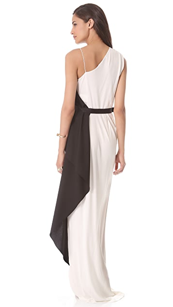 Vionnet Sleeveless Jersey Gown