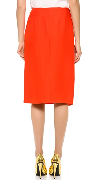 Vionnet Draped Skirt