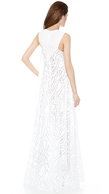 Vionnet Sleeveless Gown