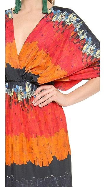 Vionnet Short Sleeve Gown