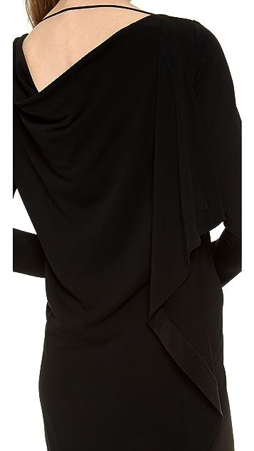 Vionnet Long Sleeve Dress