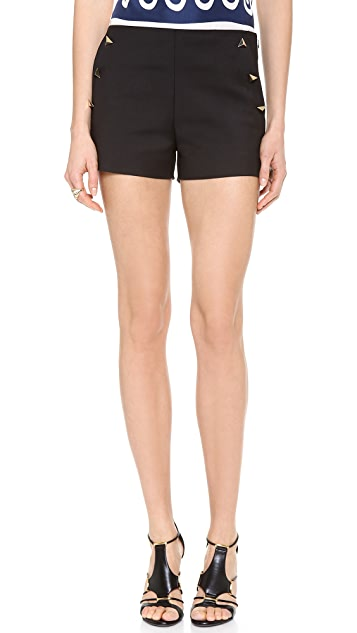Vionnet Cotton Shorts