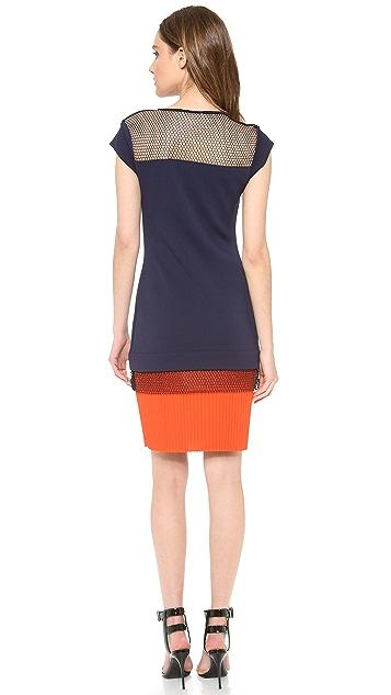 Vionnet Cap Sleeve Dress