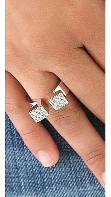 Vita Fede Crystal Omega Ring