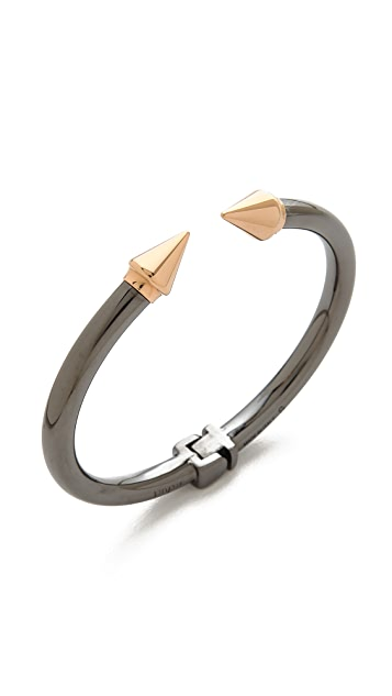 Vita Fede Mini Titan Two Tone Bracelet