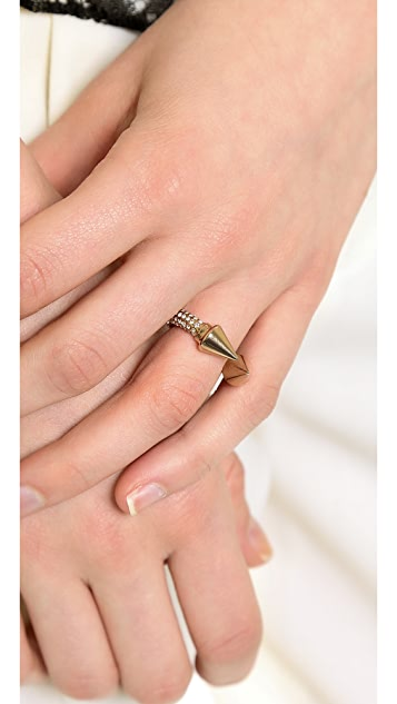 Vita Fede Titan All Over Crystal Ring
