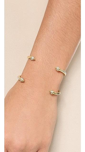 Vita Fede Double Crossed Titan Bracelet