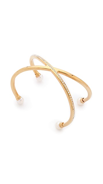Vita Fede Double Crossed Bracelet