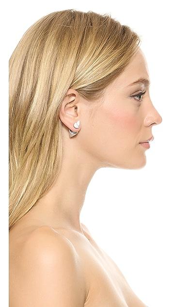 Vita Fede Double Titan Stone Earrings
