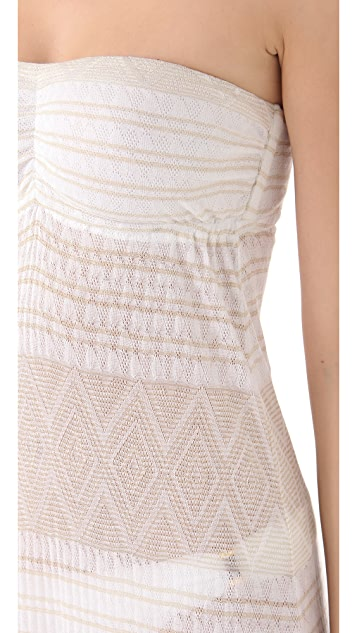 Vitamin A Lauren Long Cover Up Dress