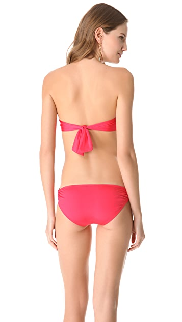 Vitamin A Bel Air Bandeau Bikini Top