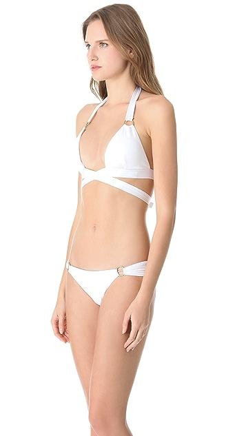 Vitamin A Siren Wrap Bikini Top