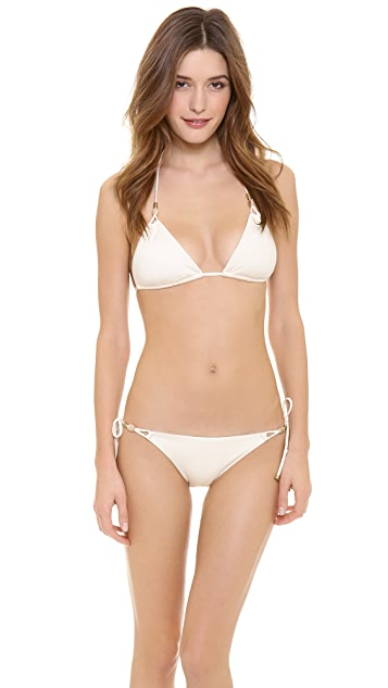 Vitamin A Gwyneth Deluxe Triangle Bikini Top