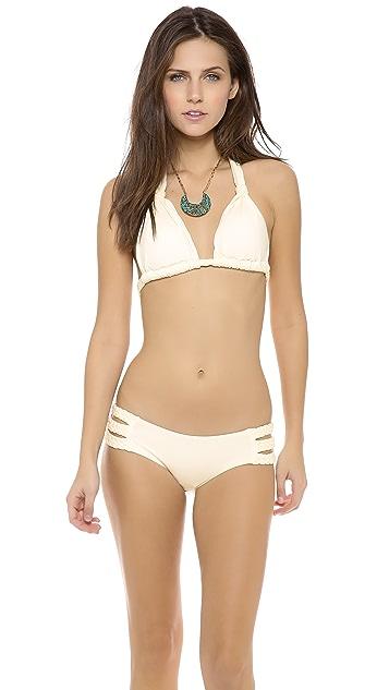 Vitamin A Chloe Braid Halter Bikini Top