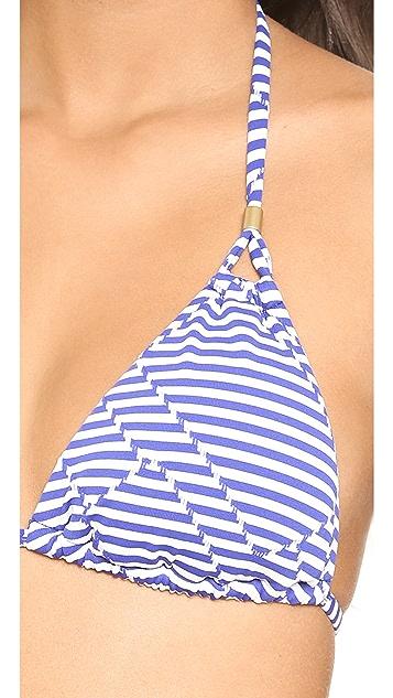 Vitamin A Gwyneth Triangle Bikini Top