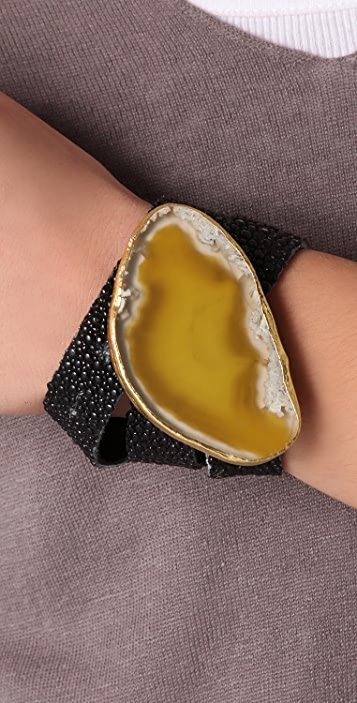 Vita New York Stingray Wrist Belt Bracelet