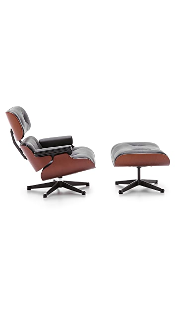 Vitra Eames Lounge Chair Ottoman Miniature East Dane