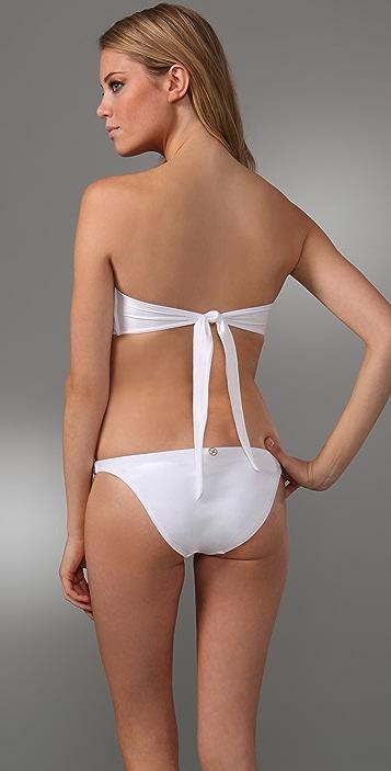 ViX Swimwear Solid Twisted Bikini Top