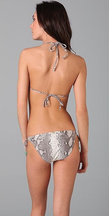 ViX Swimwear Pisa Ruffle Triangle Bikini Top