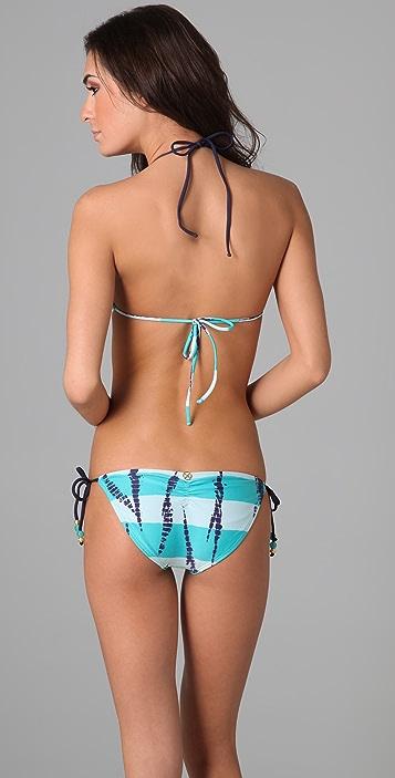 ViX Swimwear Batik Ripple Bikini Top