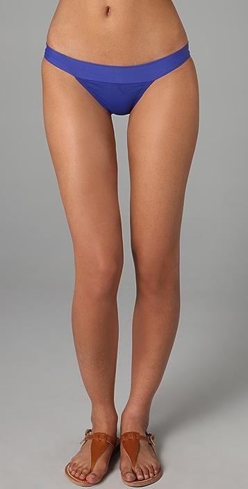 ViX Swimwear Solid New Band Bikini Bottoms
