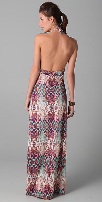ViX Swimwear Ubud Bahama Long Dress