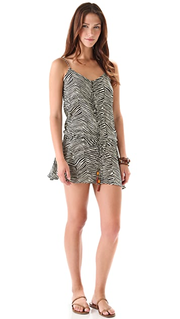ViX Swimwear Africa Bliss Short Cover Up Dress