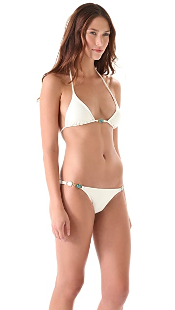 ViX Swimwear Cairo Triangle Bikini Top