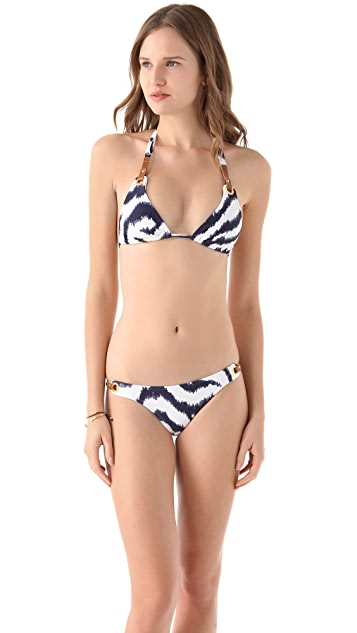 ViX Swimwear Cape Navy Bikini Bottoms
