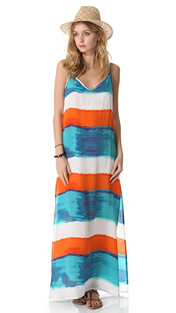 ViX Swimwear Caribe Vicky Long Cover Up Dress