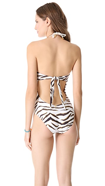 ViX Swimwear Jamaica Ring One Piece Swimsuit