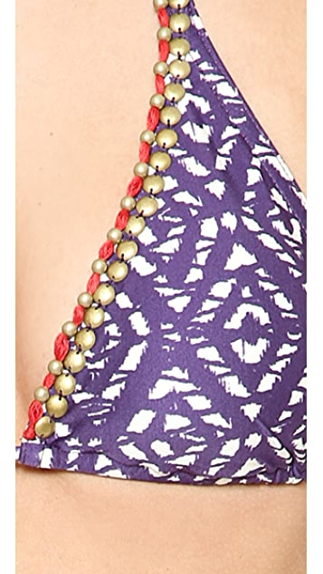 ViX Swimwear Agave Triangle Bikini Top