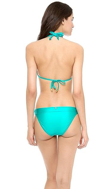 ViX Swimwear Solid Pera Bia Tube Bikini Top
