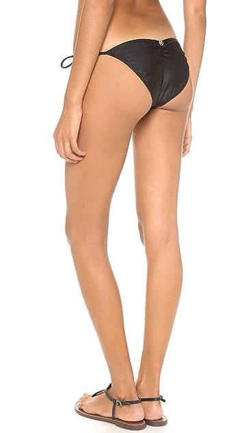 ViX Swimwear Solid Black Bikini Bottoms