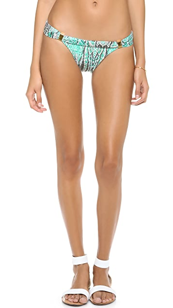 ViX Swimwear Ruda Aqua Sash Bikini Bottoms